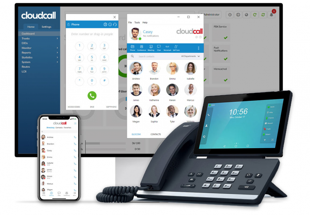 Hosted PBX - CloudCall